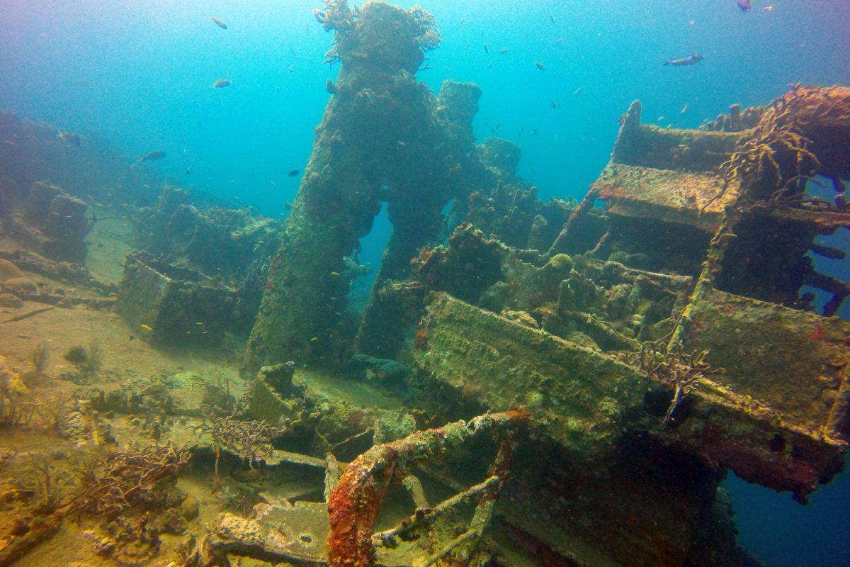 Wreck Jane-C Aruba